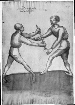 History of European Martial Arts Part XIII - Degenfechten